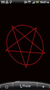 Spinning Pentagram Wallpaper
