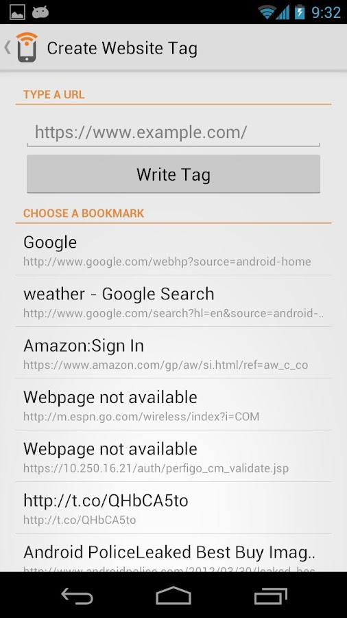 NFC Writer by Trigger- screenshot