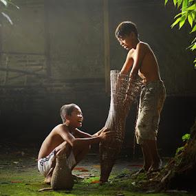 bubu ku by Ramadhan Bagaskara Arya Parmuka - Babies & Children Children Candids ( bubuku )