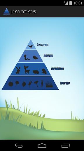פירמידת המזון בטבע