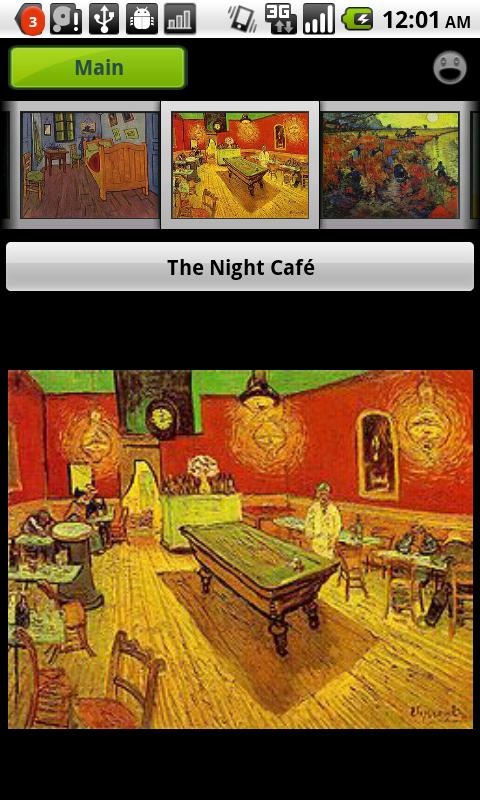 Gogh Gallery & Puzzle- screenshot