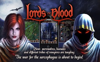 Screenshot of Lords of Blood - Vampire RPG