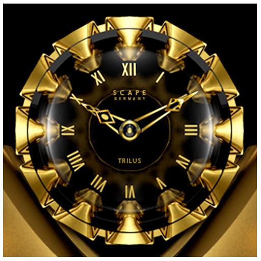TRILUS Luxury Clock Widget