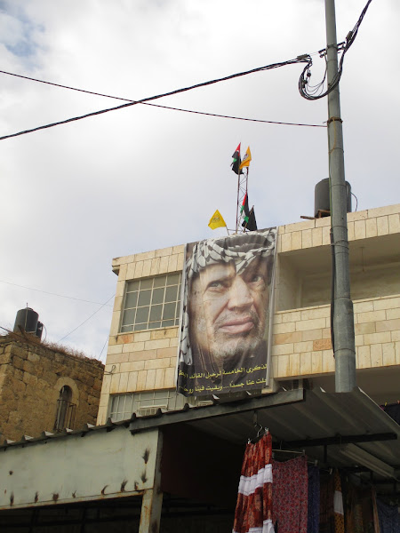 Poster of Yasser Arafat in Bethany
