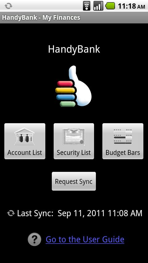 HandyBank- screenshot