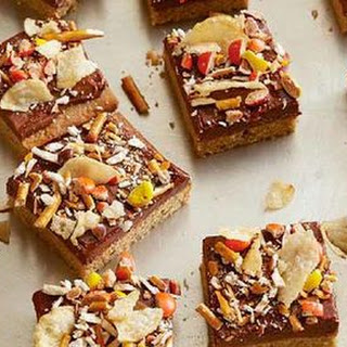 Peanut Butter Cupboard Cookie Bars
