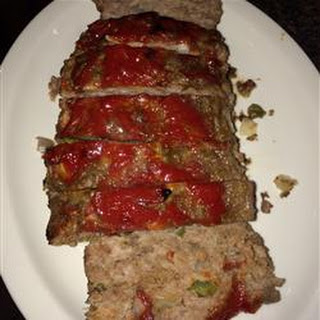 Meatloaf with Italian Sausage.
