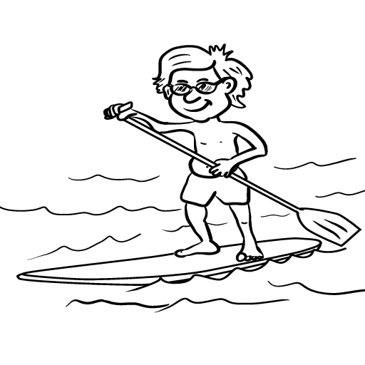 Lake Paddleboarding