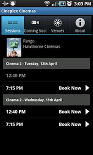 Cineplex Cinemas - screenshot thumbnail