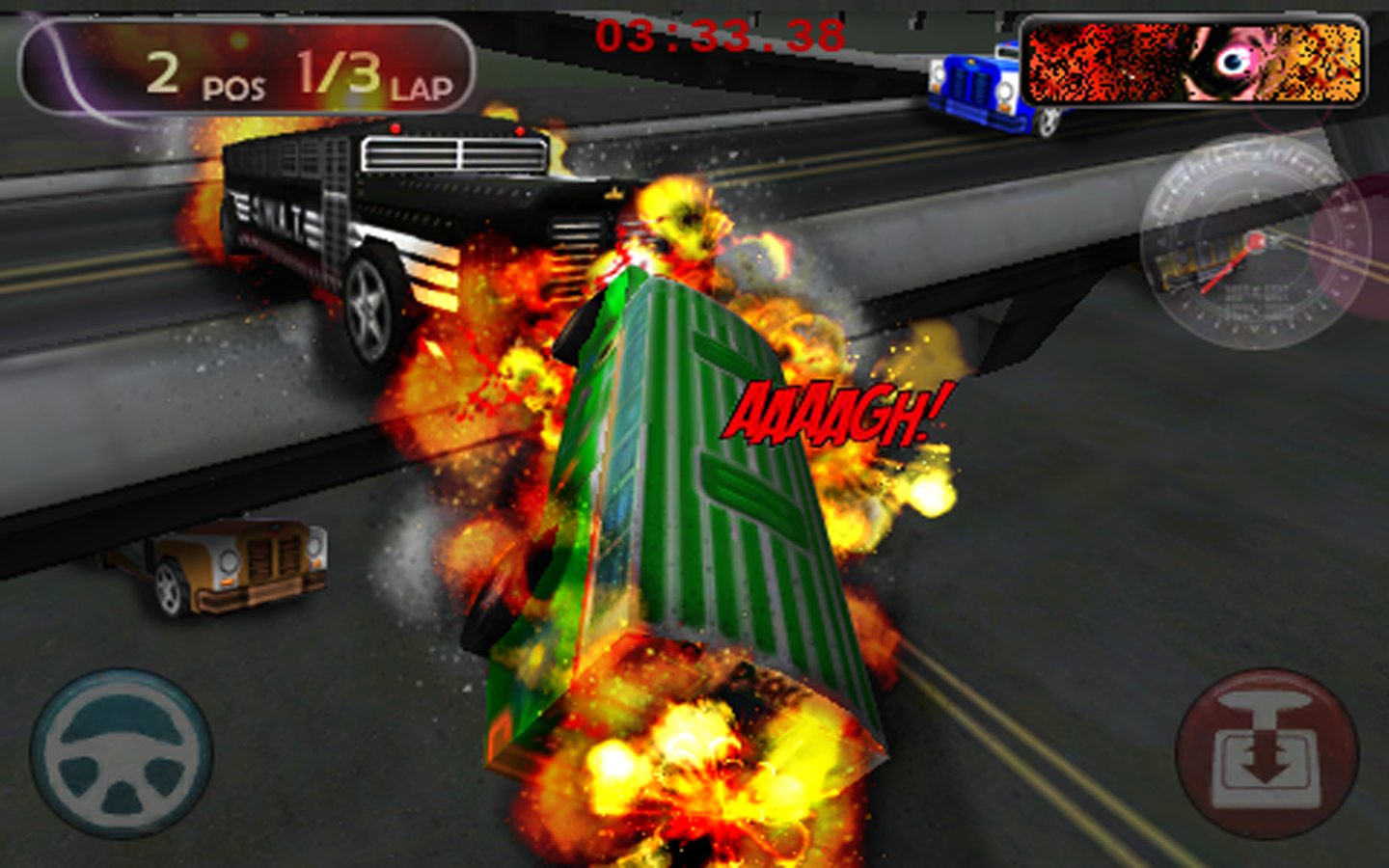 Bus Turbo Racing FREE- screenshot