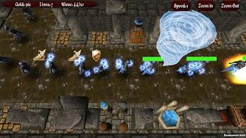 Screenshot of Awakened Gods: Elementals TD L