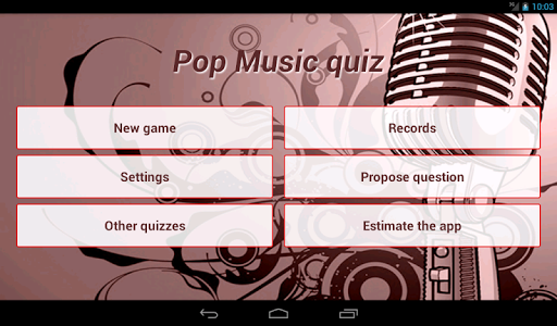 【免費益智App】Pop Music Quiz-APP點子