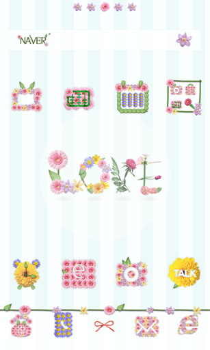 Flowertxt dodol launcher theme
