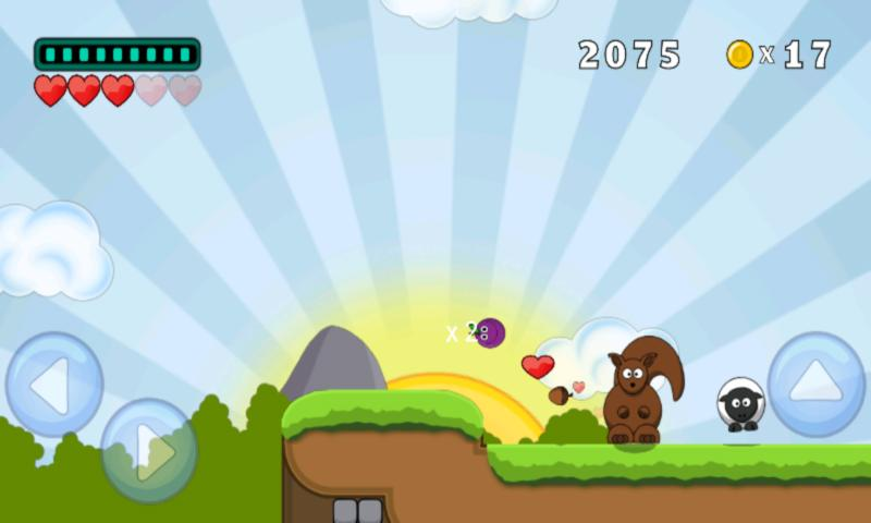 Plumy - Platform Game - screenshot