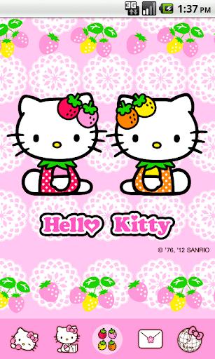 Hello Kitty Love Strawberry