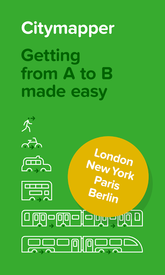 Citymapper - Urban Transport - screenshot