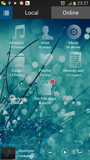 Storm Music Player
