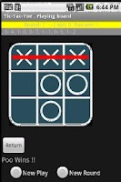 Screenshot of Tic-Tac-Toe with other telepho