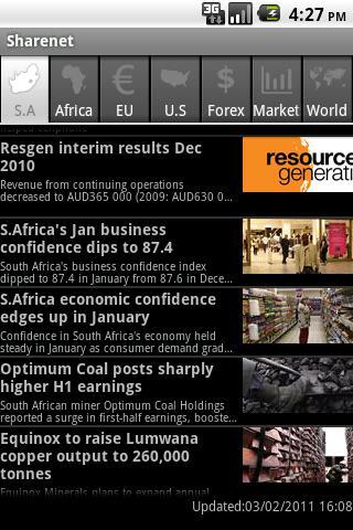 Sharenet- screenshot