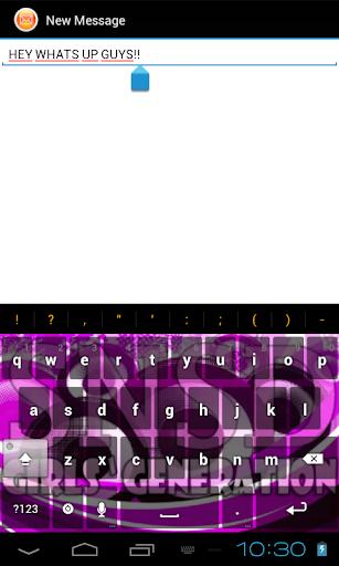 【免費個人化App】Girls Generation Keyboard-APP點子