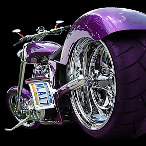 Another Big Wheel by Axel K. Böttcher - Transportation Motorcycles