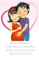 Screenshot of Get Pregnant