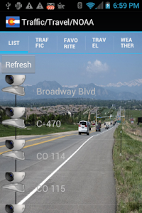 Colorado Traffic Cameras Pro screenshot 9