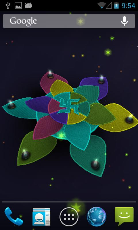 3D Diwali Live Wallpaper Free - screenshot