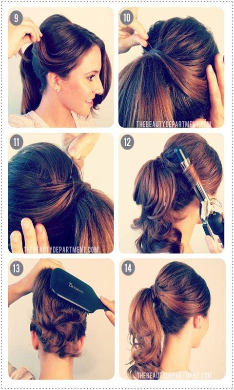 Hairstyles Step By Step easy hairstyle step by step screenshot Hairstyle Step By Step Screenshot
