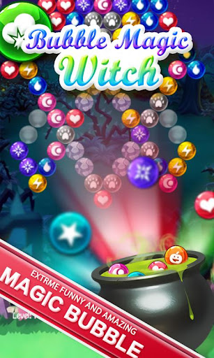 Bubble Magic Witch