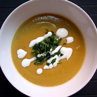 Lentil and Chestnut Soup.