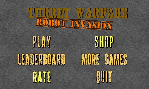 Turret Warfare Robot Invasion