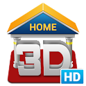 3D Home HD icon