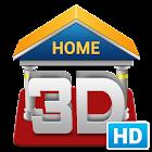 3D Home HD icon