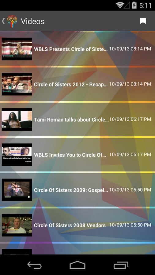 Circle of Sisters Expo- screenshot