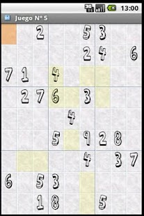 Android Sudoku Demo - screenshot thumbnail