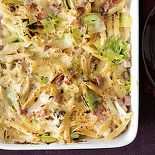 Mac & Cheese with Leeks and Ham
