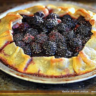 ~cherry & Blackberry Galette~