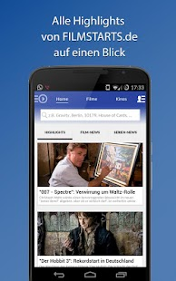 Filmstarts: Kino, Film, Serien - screenshot thumbnail