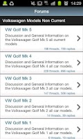 Screenshot of VW Forum.co.uk