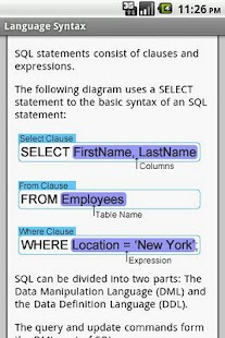 MySQL Pro Quick Guide - screenshot thumbnail