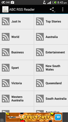 ABC News RSS Reader