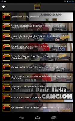 Chachi Guitar - screenshot