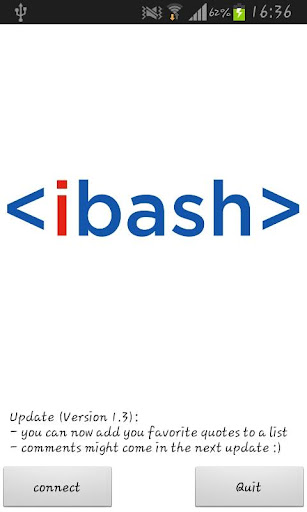 iBash old