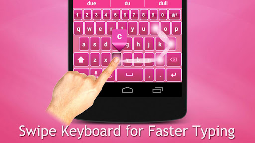 Fancy Pink Keyboard