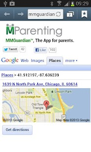 MMGuardian™ Family Locator - screenshot thumbnail