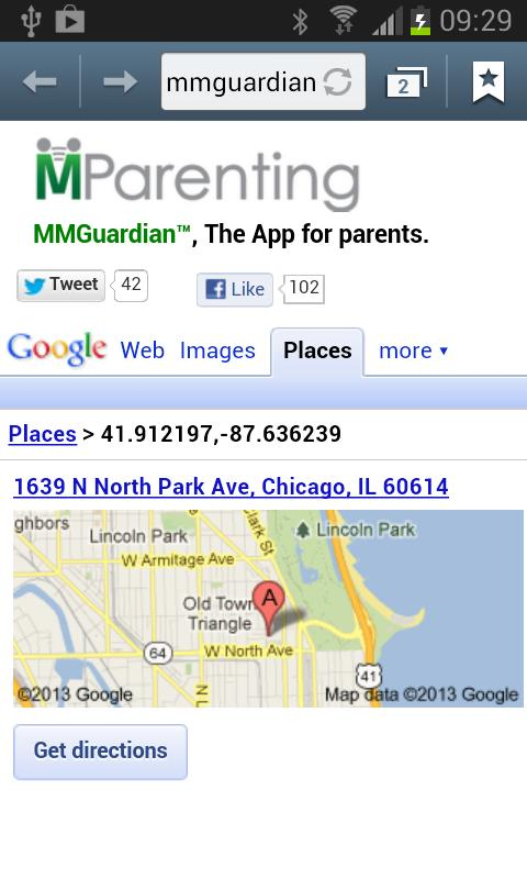 MMGuardian™ Family Locator - screenshot