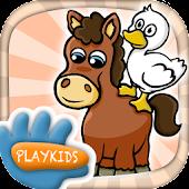Farm animal games for kids