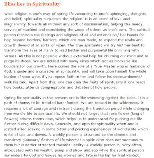 Spirituality-Articles 9