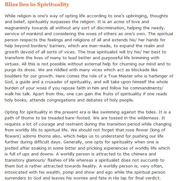 Spirituality-Articles 21